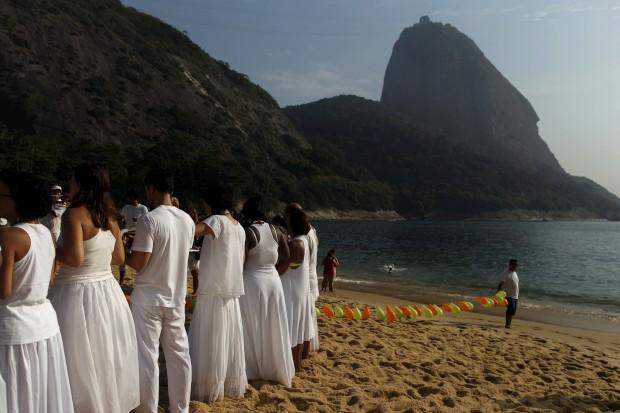 Na Praia Vermelha do Rio de Janeiro