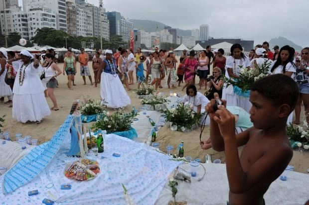 Em Copacabana, Rio