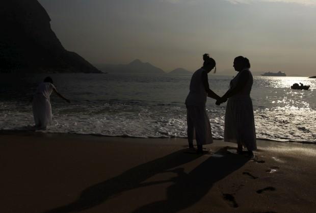 Na Praia Vermelha do Rio de Janeiro, 31 de Dezembro
