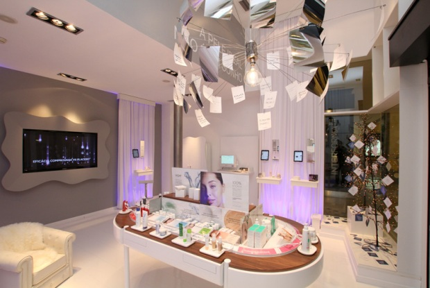 O interior do My Beauty Closet, a
