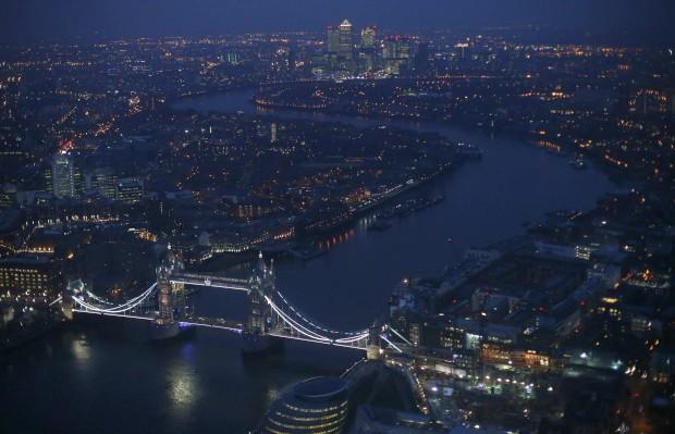 Deste miradouro, vamos voar os olhos por Londres