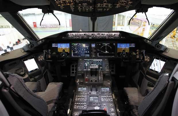 No cockpit.