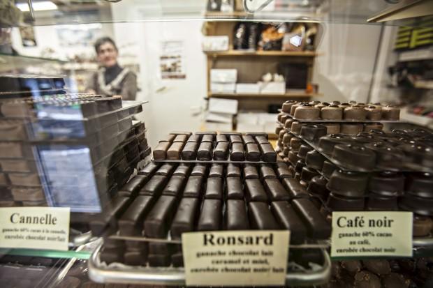Saint-Lary-Soulan. Les Flocons Pyrénées, chocolataria artesanal que pertence a portugueses
