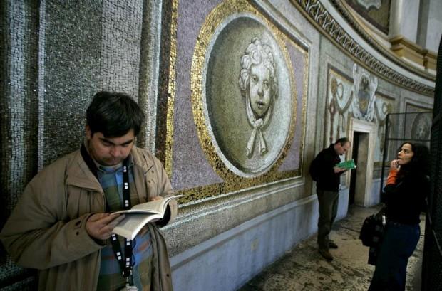 Os mosaicos da cúpula da Basílica