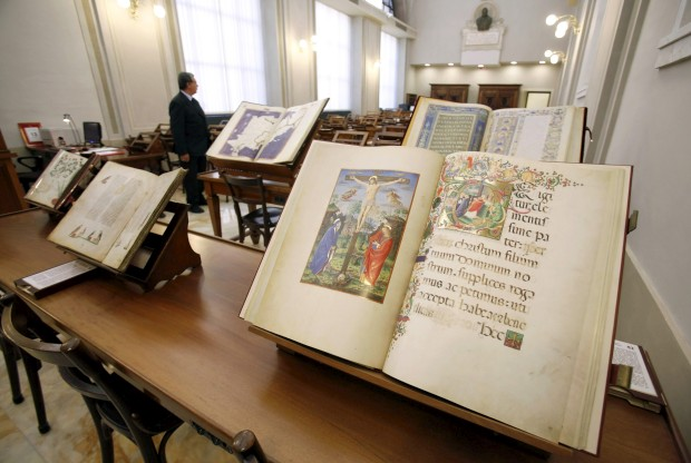 Manuscritos na Biblioteca Apostólica Vaticana