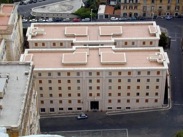 Domus Sanctae Marthae: Residência em estilo hotel onde os cardeais ficam durante o Conclave