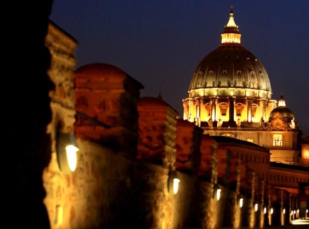 Passetto di Borgo, uma ponte medieval que liga a Cidade do Vaticano ao Castelo de Sant' Angelo