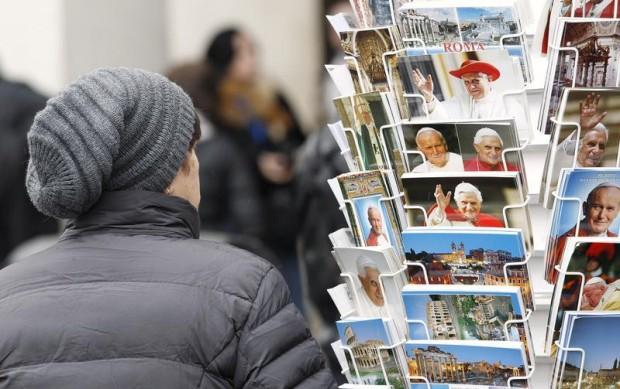 Os Papas são também um ícone turístico de Roma e Itália