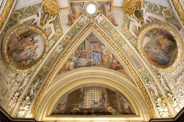 Capella Paolina, datada de 1538 e restaurada em 2009