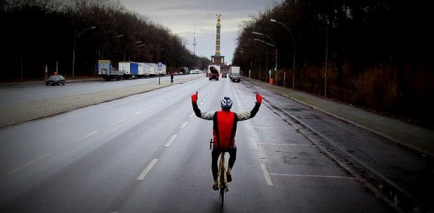 A chegar à meta em Berlim