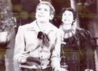 Filipe La Féria actor com Luís Neto na peça Boca de Fogo, em 16 de Novembro de 1966