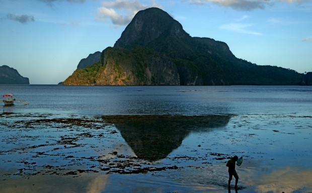 Um paraíso nas Filipinas
