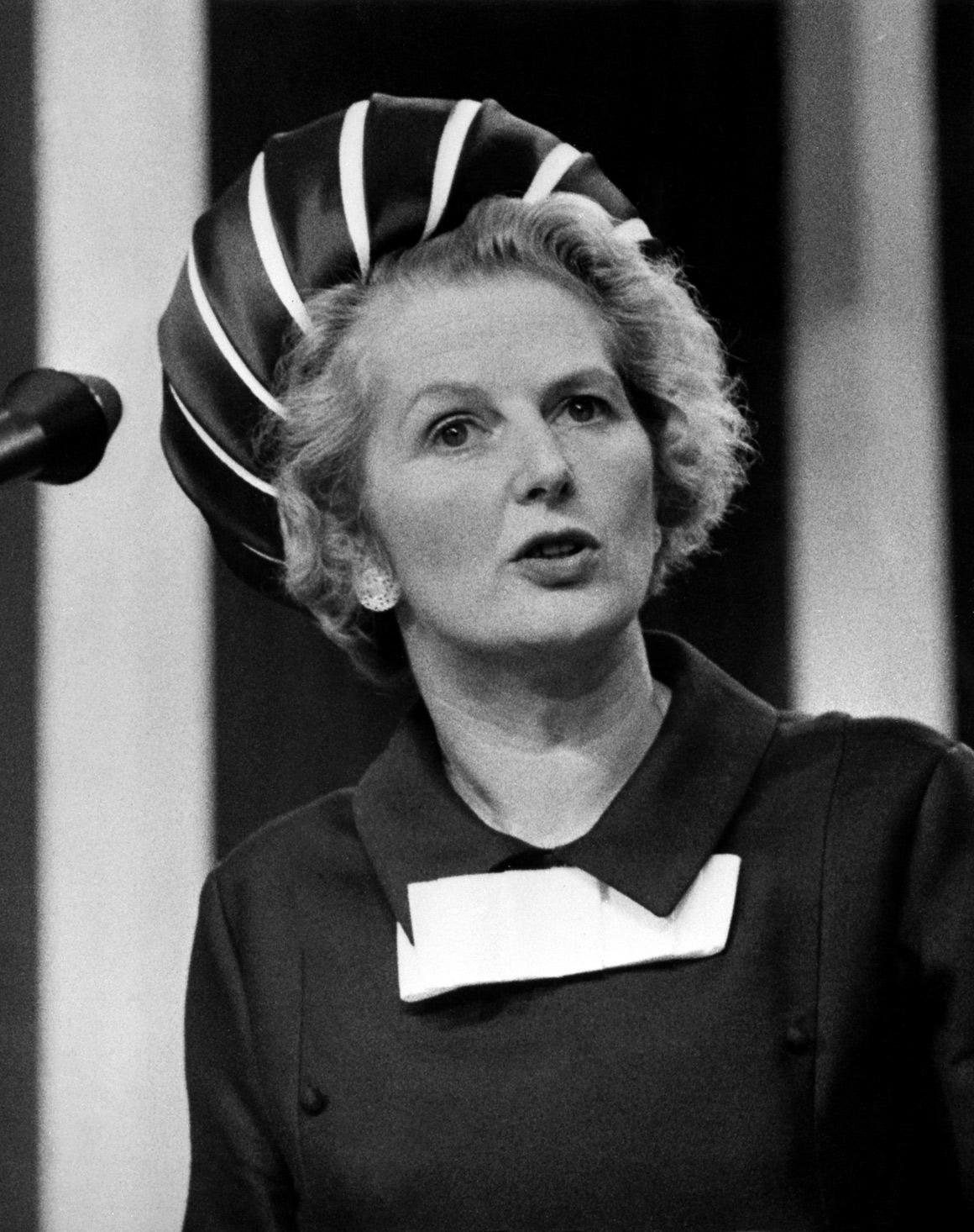 Thatcher enquanto ministra da Educação e Ciência, em 1970