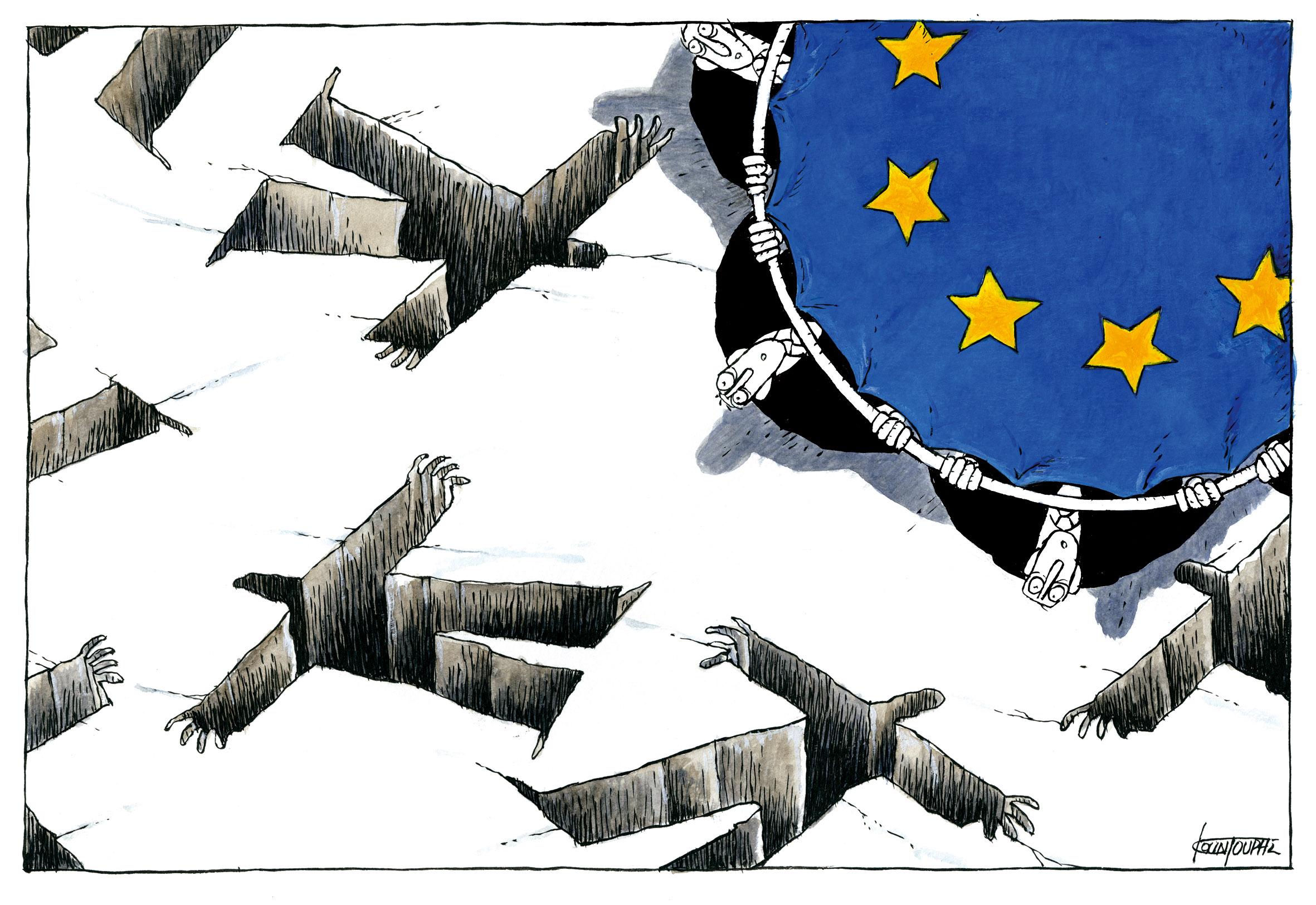 """Equipa de resgate da UE"" (Grand Prix e Editorial)"