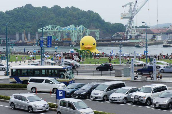 No Japão, em Onomichi, Hiroxima