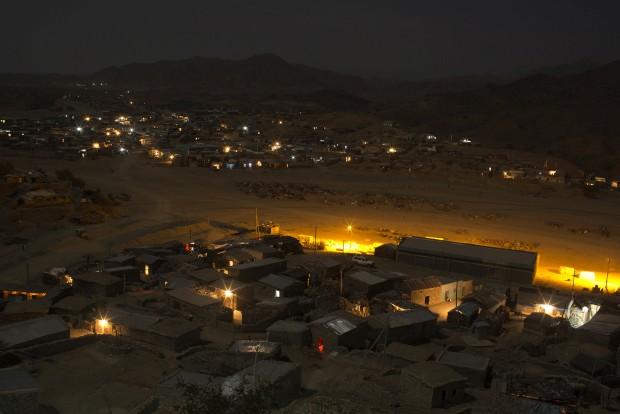 Berahile in Afar, cidade do sal