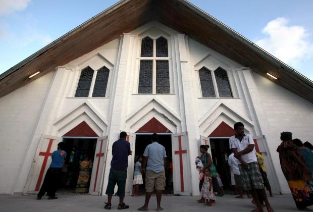 Igreja na Tarawa do Sul