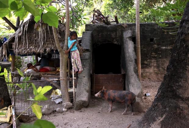 Um bunker,