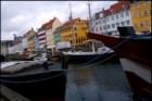 Copenhaga. Nyhavn, porto novo
