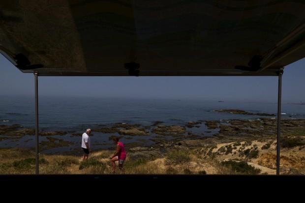 Na costa alentejana