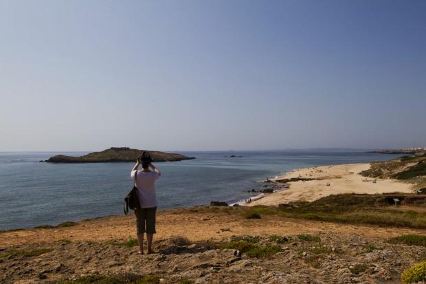 Com a ilha do Pessegueiro (Porto Côvo) no olhar