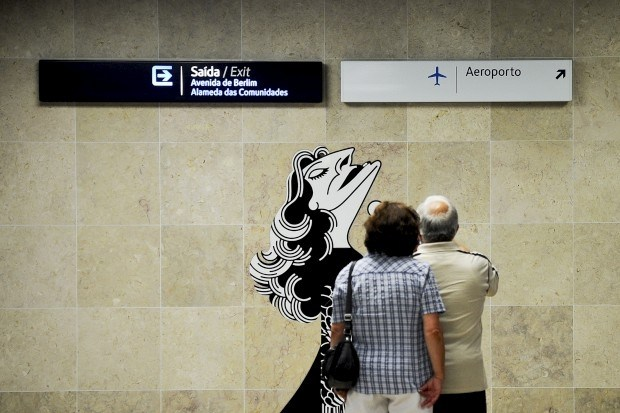 Ligação do Metro ao aeroporto faz um ano e aumentou tráfego na linha em 12%