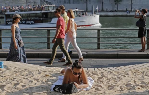 Paris, Cidade Praia