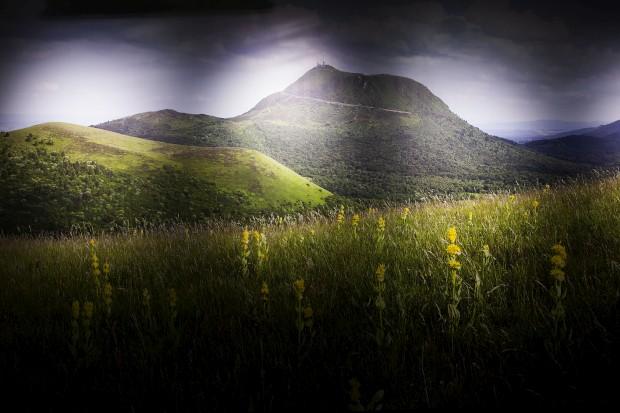 O Puy de Dôme é o mais famoso dos vulcões de Auvergne