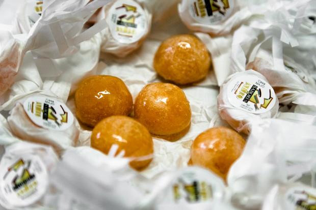 Portalegre. Rebuçados de ovo de Natália Sardinha da marca Sabores do Alto