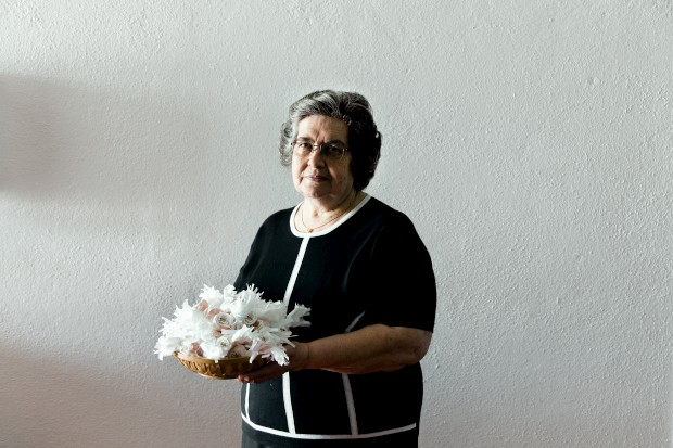Portalegre. Natália Sardinha da marca Sabores do Alto com os célebres rebuçados