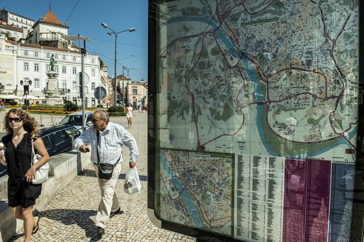 As voltas de Coimbra