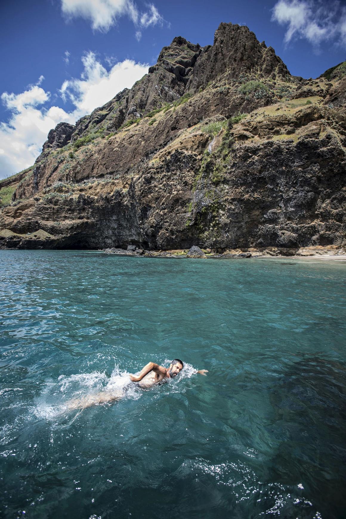 Santa Maria. Mergulho nas águas límpidas