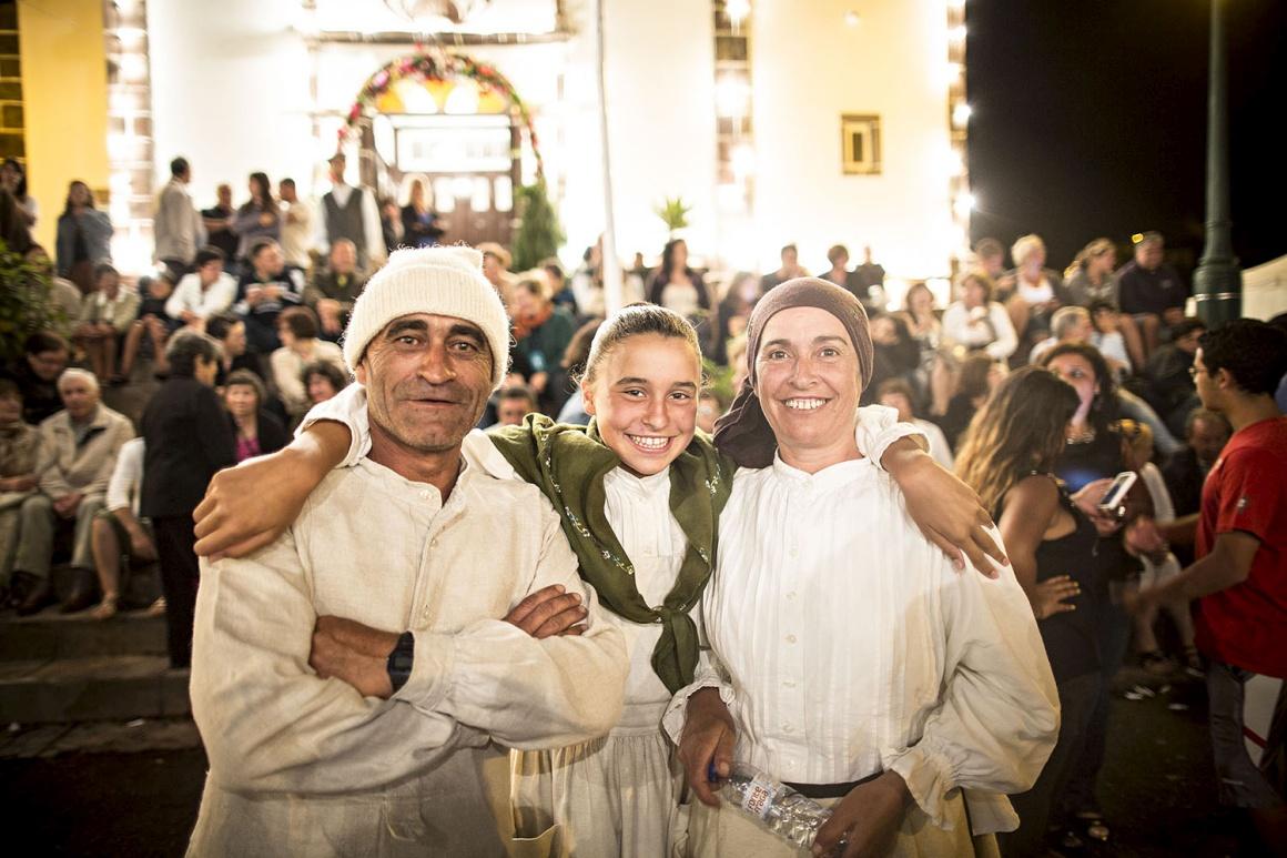 Festa em Santa Bárbara