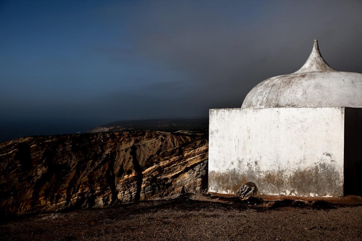 Cabo Espichel, concelho de Sesimbra. Ermida da Memória