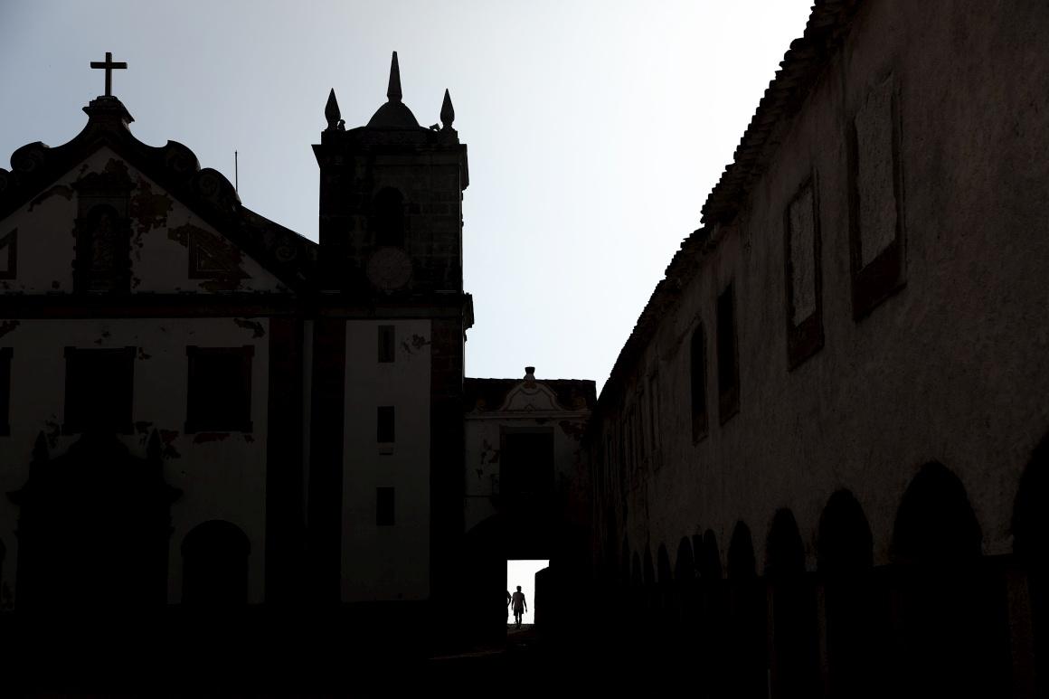 Cabo Espichel, concelho de Sesimbra. Igreja de Nossa Senhora do Cabo