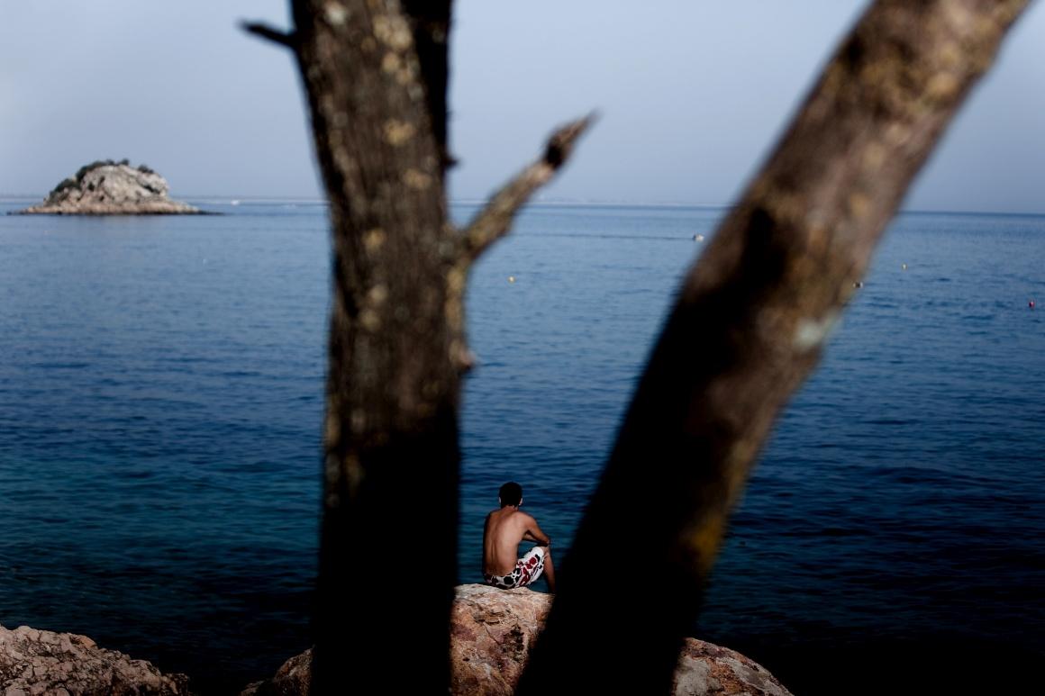 Arrábida, praia do Portinho da Arrábida
