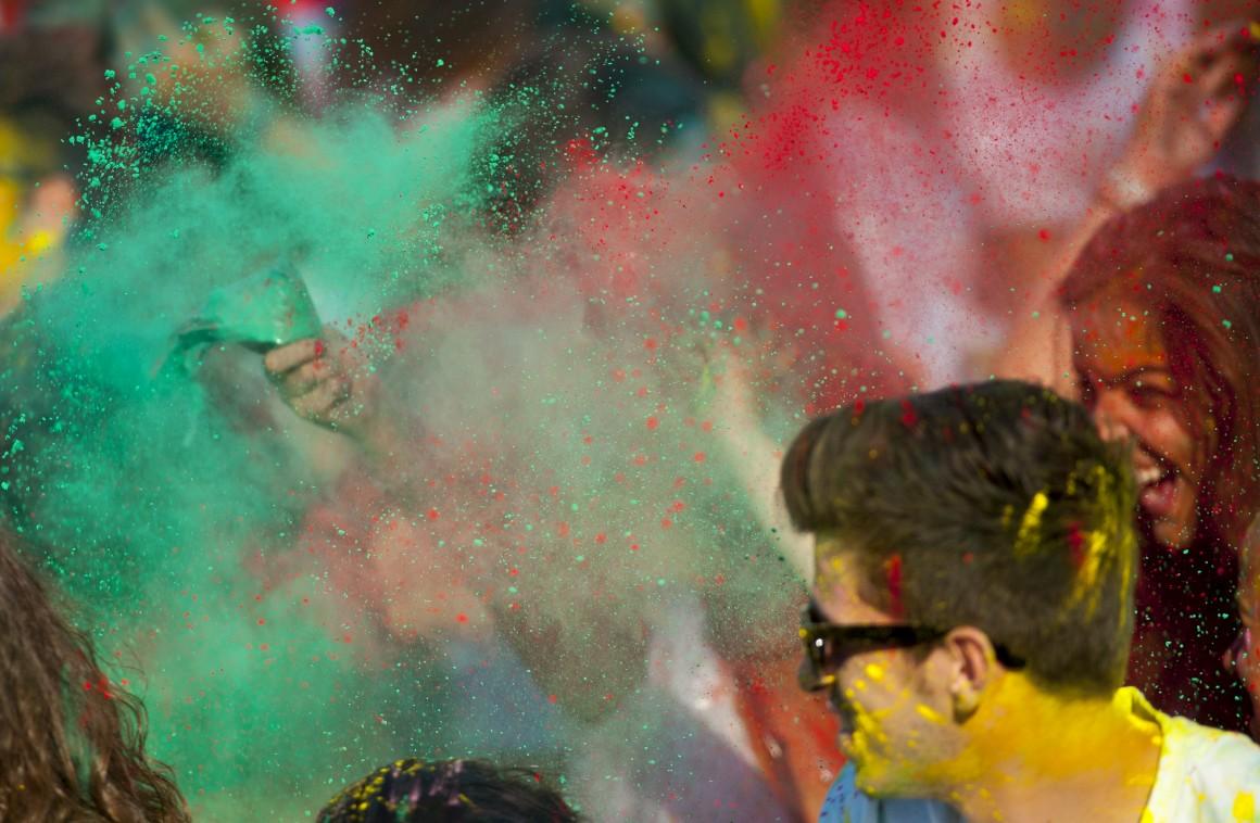 O Festival das Cores no Porto