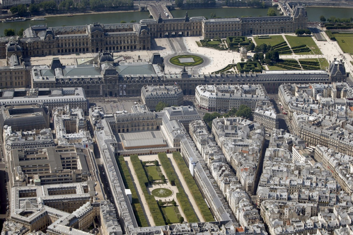 Palais Royal e Louvre