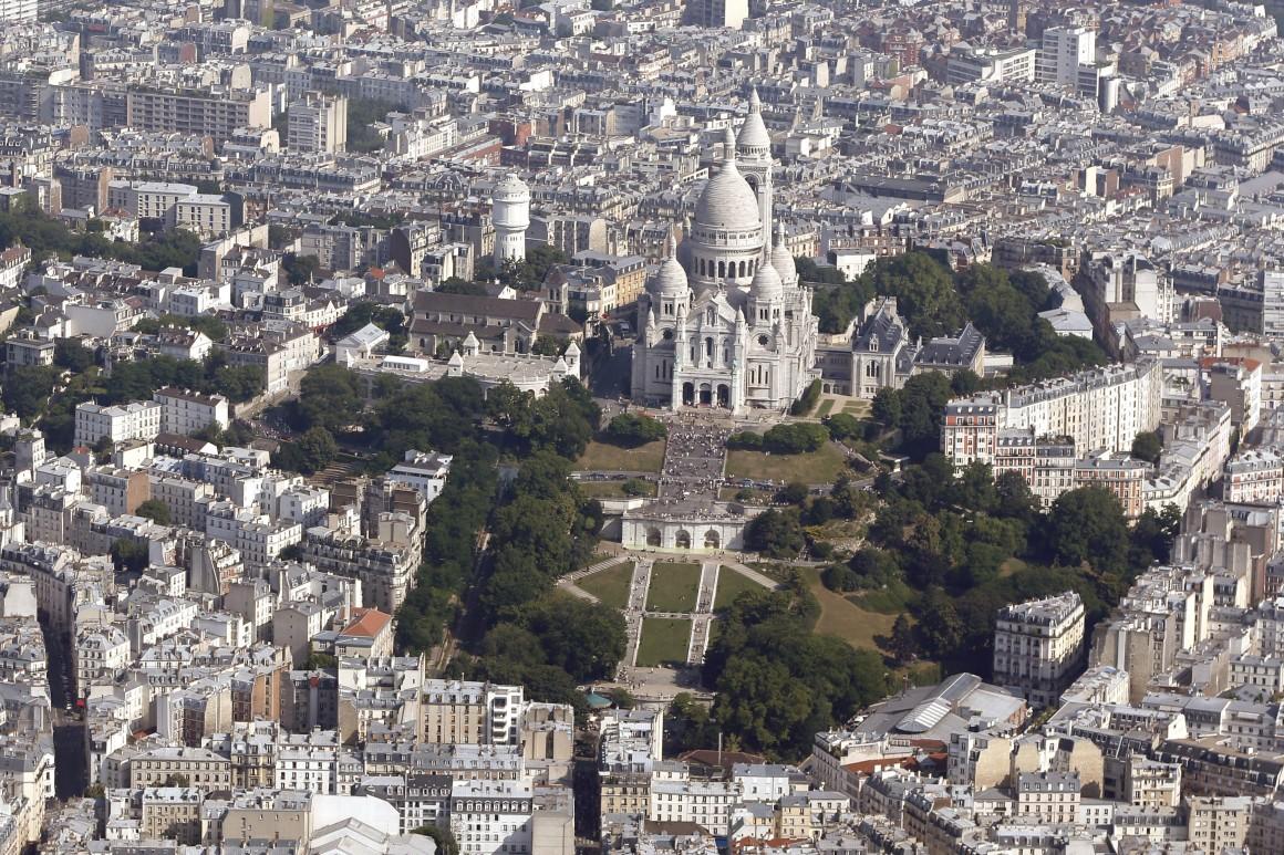 Basílica de Sacre Coeur e Montmartre