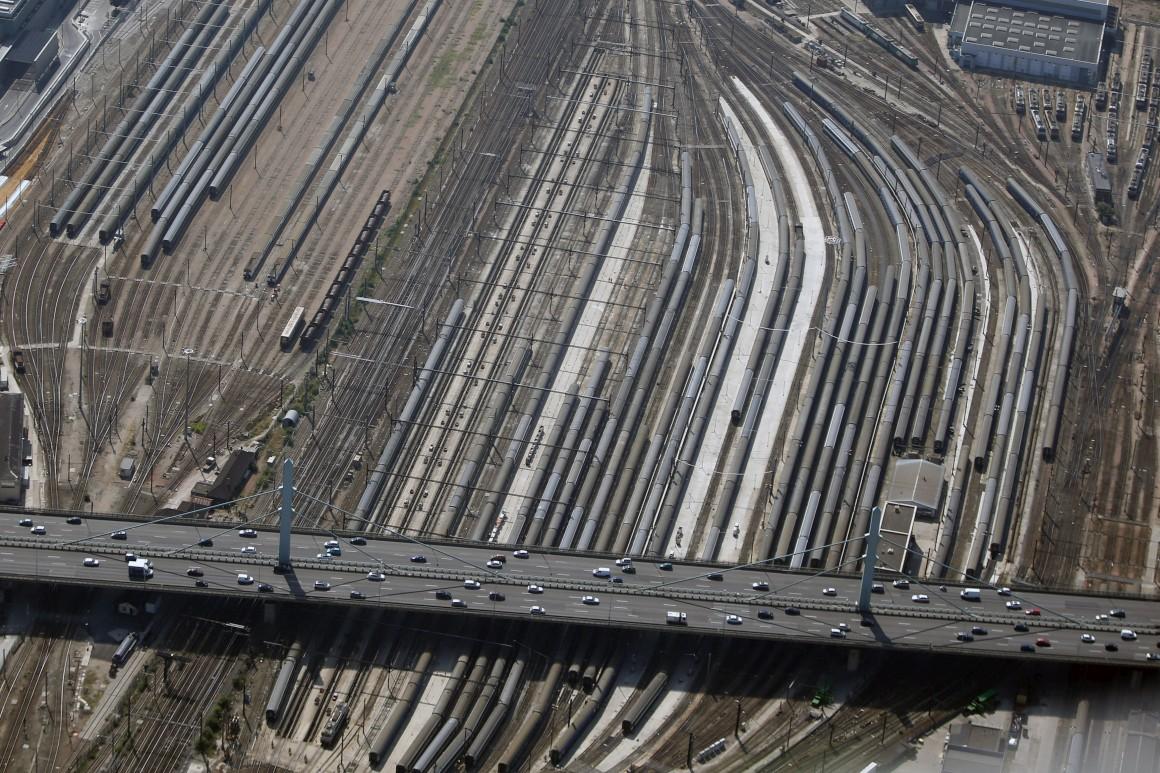 Estação de comboios de Austerlitz