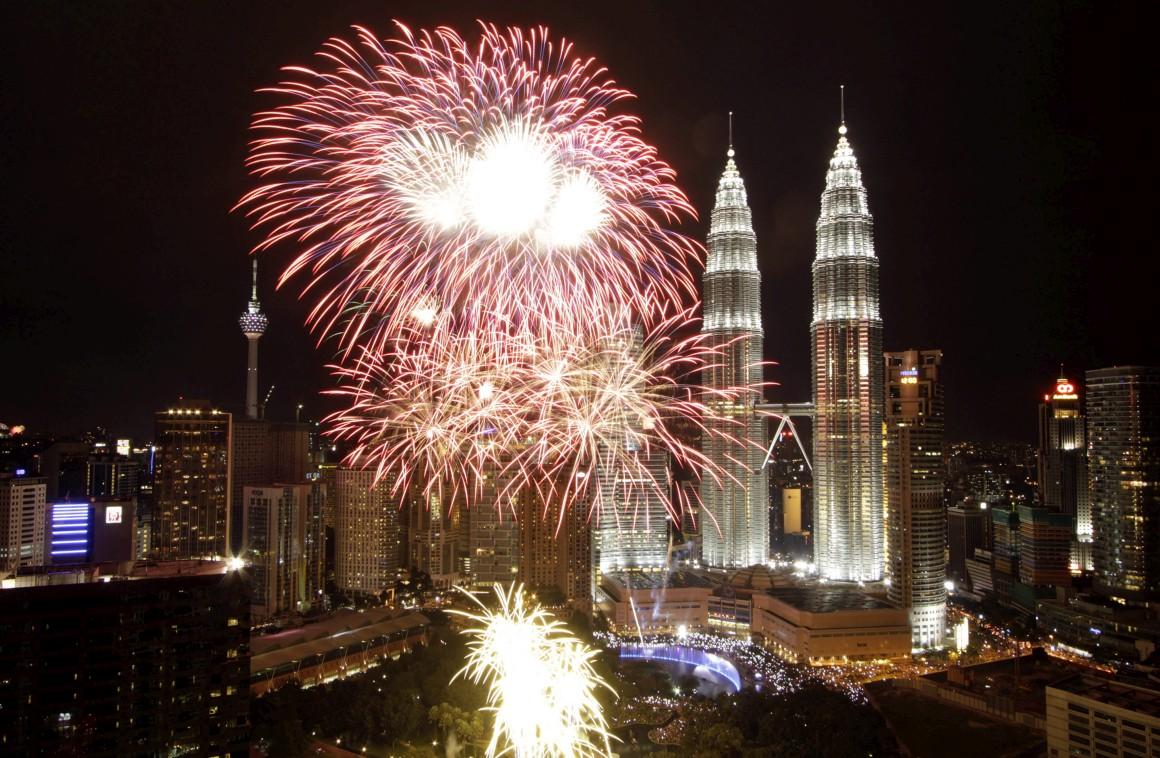 Celebrações de Ano Novo, a 1 de Janeiro 2013