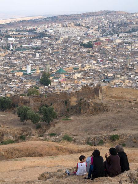 Vista sobre Fez