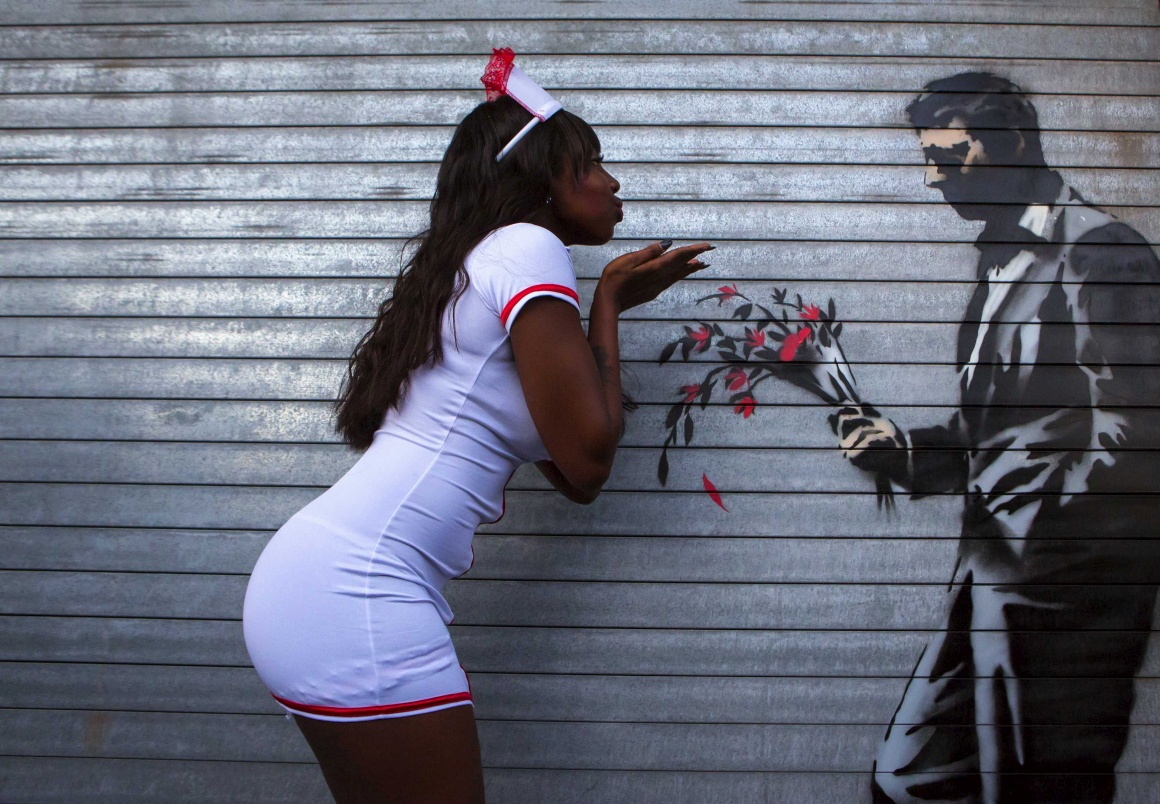 Banksy goes New York