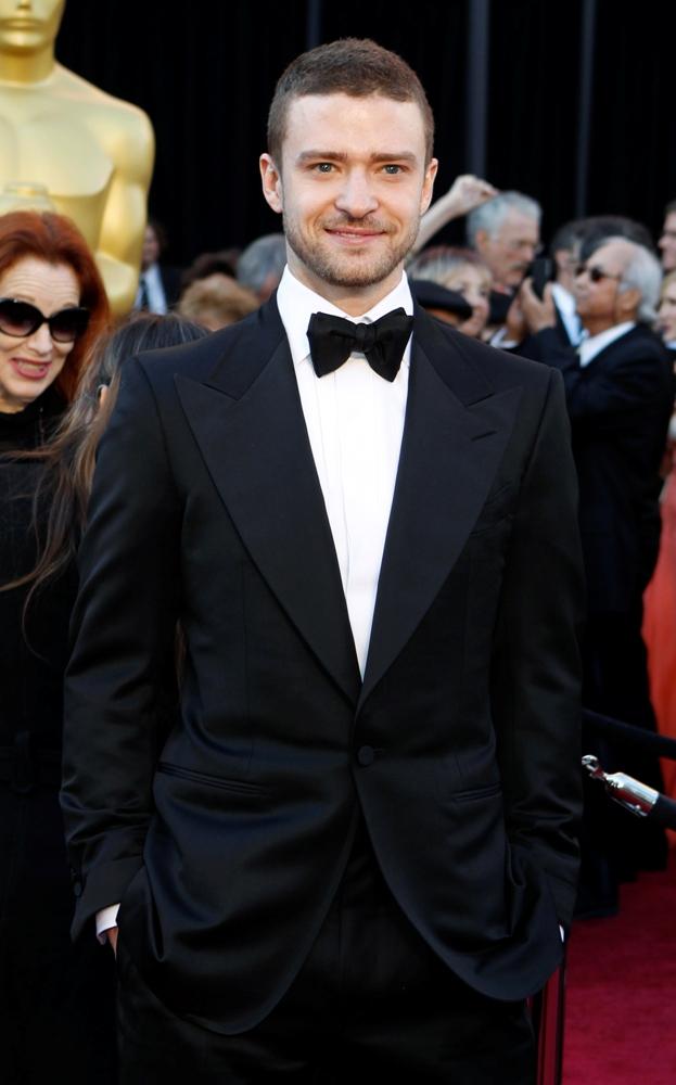 Justin Timberlake by Tom Ford à chegada dos Óscares 2011