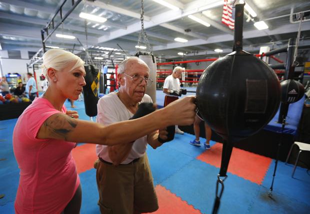 O peso dos anos pode ser músculo