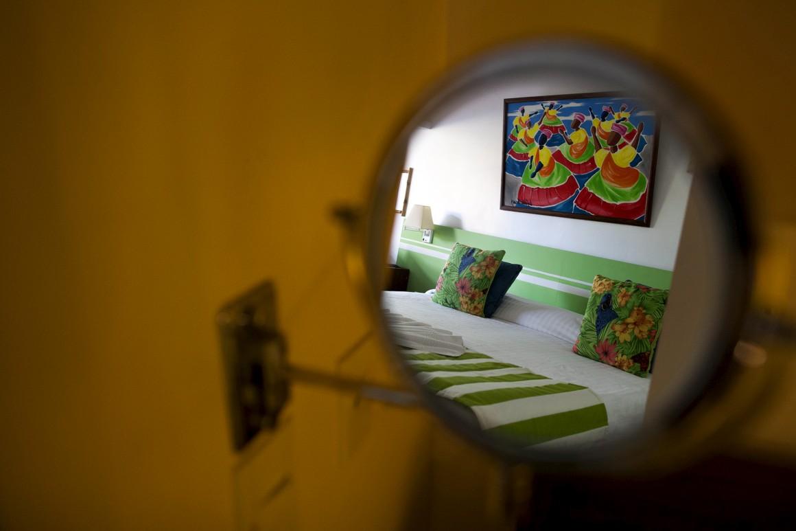 Um dos quartos Club Superior do Club Med Itaparica