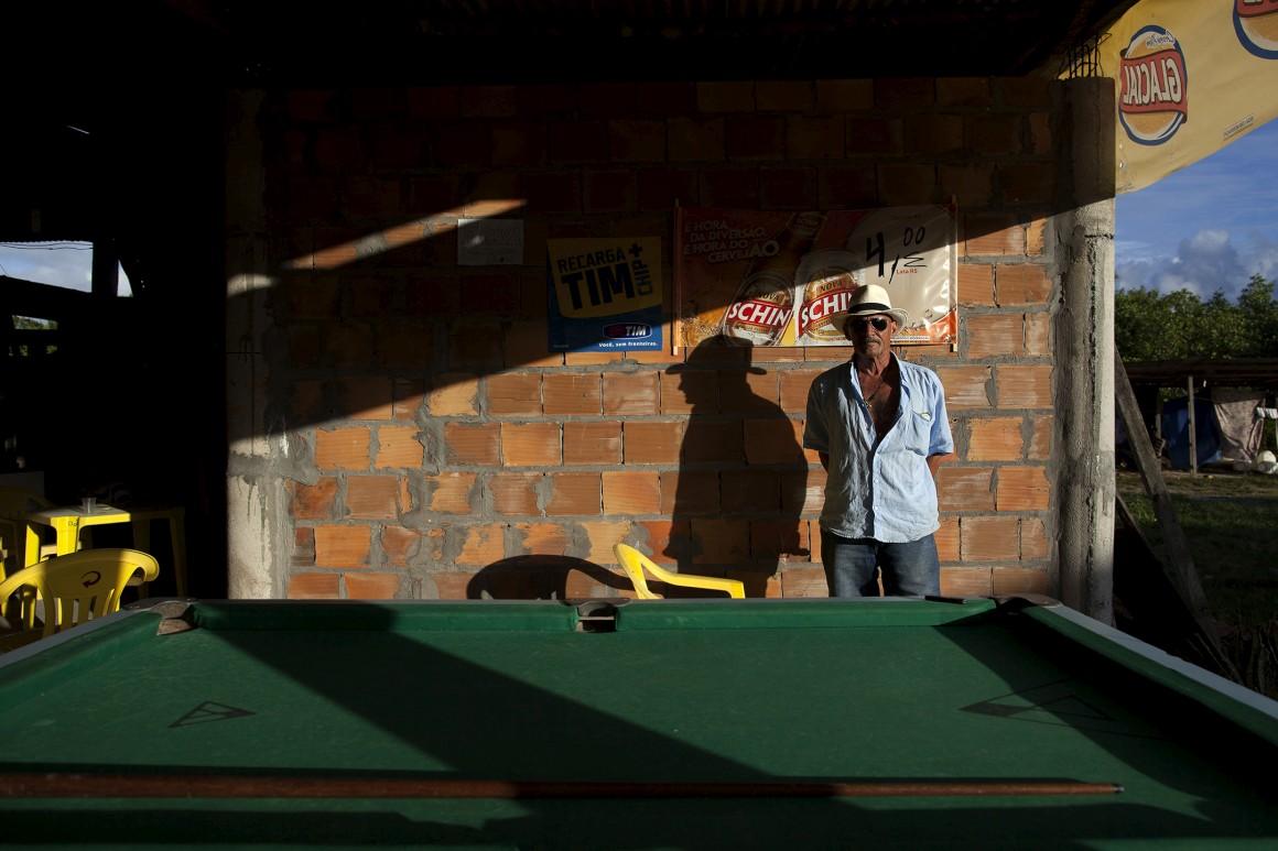 O guia João Carlos depois de um dia no Morro de São Paulo