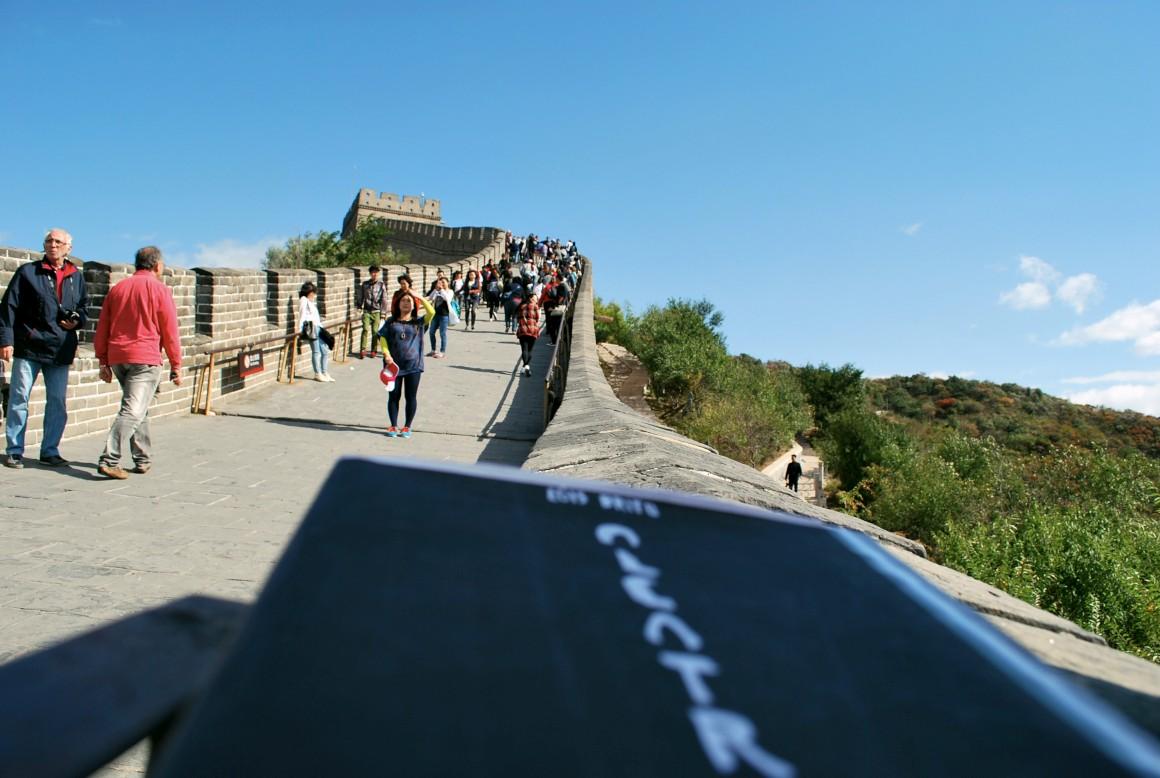 Alcatrão pelo mundo: Filipa na Muralha da China