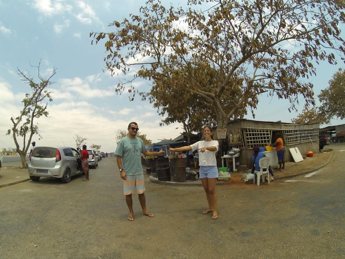 Alcatrão pelo mundo: Francisco e Rita em Luanda