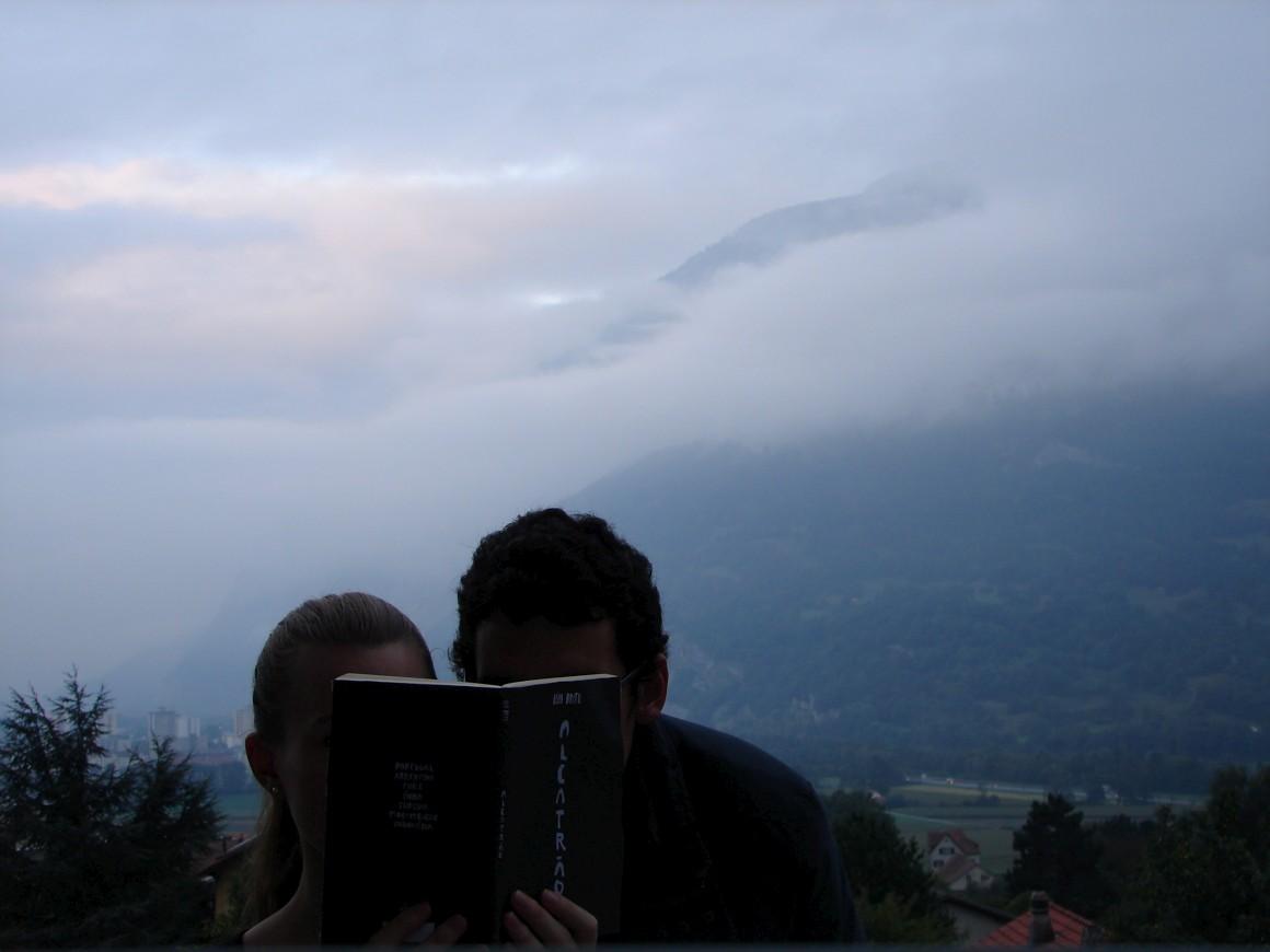 Alcatrão pelo mundo: João e Lili no vale de Chur, Suíça